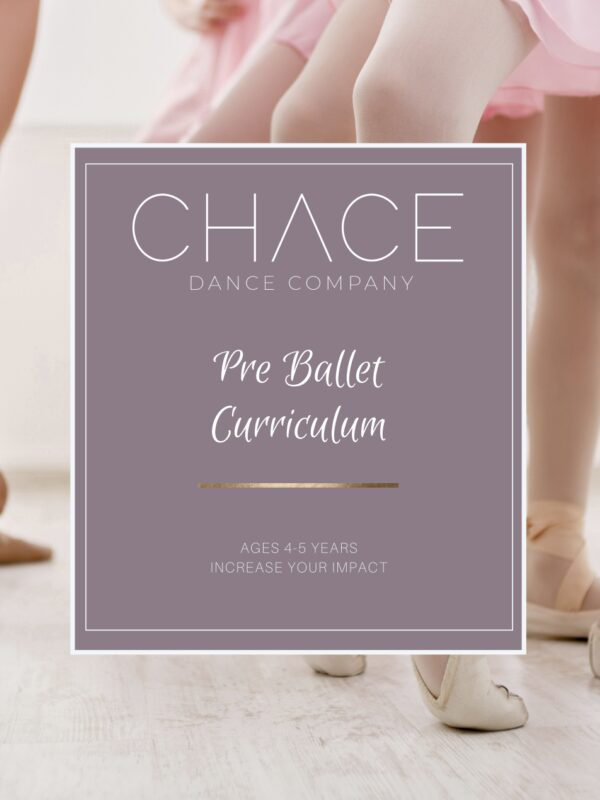 Pre Ballet Curriculum Book