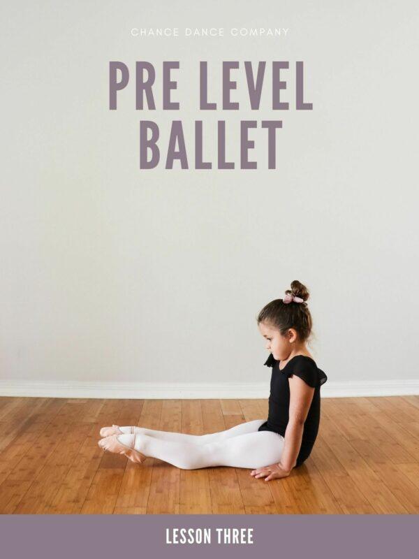 Pre Ballet Lesson Plans